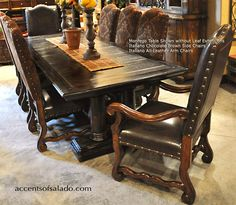 tuscan dining room sets | century furniture dining table & dining