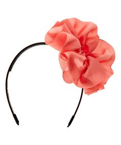 Another great find on #zulily! Rose Hanging Bow Headband #zulilyfinds