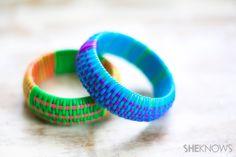 How to replicate designer bangles