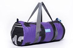 """MAFIA Day Off Upcycle Kitesurf, Windsurf and Sail Boat Sails Duffle Bag   MAFIA Day Off Upcycle Kitesurf, Windsurf and Sail Boat Sails Duffle Bag Bags made form windsurf, kitesurf and sailboat sails?. Mafia is up-cycling sails into turning them into ?""""new""""? long lasting products. People are unique, so are Mafia products. Each one has intact footprint of the sails history, creating a unique bond between you and the product. Pack everything for your next aventure in this water resistan.."""
