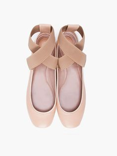 Chloe ballet flats for those days when the Louboutins are just too much