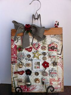 Our own @Gloria Stengel is making this in a class on Saturday! How cute and festive! #wallhanging