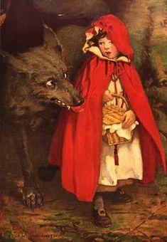 Jessie Willcox Smith, Little Red Riding Hood