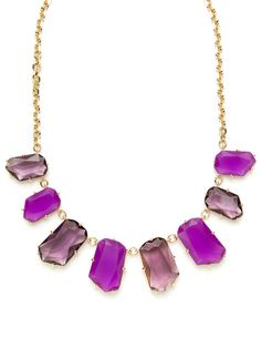 kate spade new york Purple Multi Statement Necklace - would go great with my peplum dress... :D