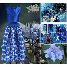 How To Wear Blue is the color of night when the red sun disappears from the sky Outfit Idea 2017 - Fashion Trends Ready To Wear For Plus Size, Curvy Women Over 20, 30, 40, 50