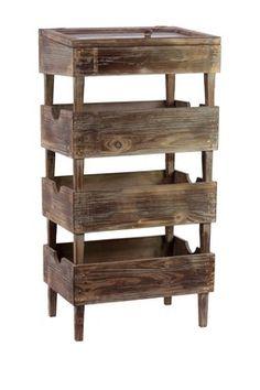 Wooden Stacking Storage.