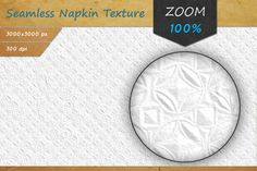Paper Napkin Seamless HD Texture by Marabu Textures Store on @creativemarket