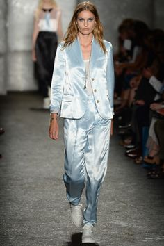 Marc by Marc Jacobs Spring 2014 Ready-to-Wear Collection Slideshow on Style.com - SATIN SUITS, THE WAY FORWARD.