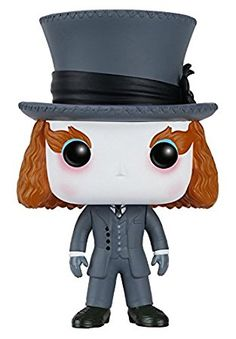 Alice Through the Looking Glass Mad Hatter Funko Pop! Vinyl Figure for Like the Alice Through the Looking Glass Mad Hatter Funko Pop! Figurine Pop Disney, Disney Figurines, Pop Vinyl Figures, Johnny Depp, Pop Up, Mad Hatter, Dc Batgirl, Chibi, Pop Goes The Weasel