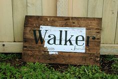 Rustic Home State and Family Name est date hand by WehuntWoodDecor