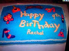 Rachel's 9th birthday