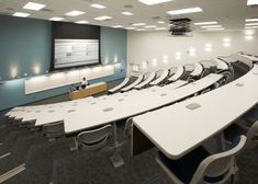 Norwalk, CA. Cerritos Community College- Lecture hall in the 52,000 SF two story science/math complex.