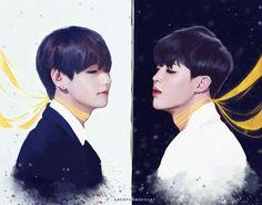 BTS Taehyung & Jimin Fanart