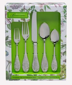 Amazon.com: Portmeirion Botanic Garden 20-Piece Flatware Set: Kitchen & Dining
