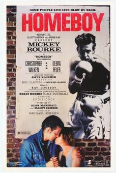Discover 14 high-resolution movie posters of Homeboy (Crime, Drama, Romance, Sport) on MoviePosterDB. Mickey Rourke, World Movies, All Movies, Vhs Movie, Movie List, Eric Clapton, Film Posters, Live Life, Youtube