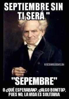 ★★★★★ Memes de risa para facebook: Lo que será Septiembre sin ti I➨…