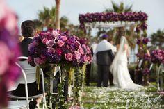 Outdoor wedding Hyatt Huntington Beach
