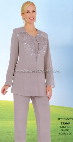 This is a listing of all the Designer Collection of Women's Church Suits with Matching Hats, Church Dresses, Career Wear, Special Occasion, and Men's Suits. Wedding Pants Outfit, Wedding Pantsuit, Groom Outfit, Mother Of The Bride Trouser Suits, Mother Of Groom Dresses, Bridal Pants, Women Church Suits, Pantsuits For Women, Indian Lehenga
