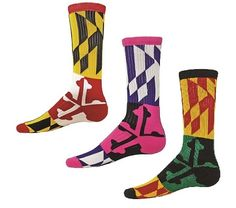 Maryland Crew Socks by Red Lion Shop www.awesome-sports.com