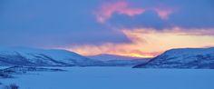 Kilpisjärvellä itsenäisyyspäivää vietettiin kauniissa talvisäässä.
