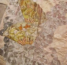Embroidery Patterns Japanese Kimono | Japanese embroidery is always inspirational.