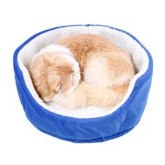 Honesty Creative Bears Paw Puppy Cat Bed Soft Plush Dog Beds Nest Basket Shape Winter Warm Kennel Pet Bed Sofa Small Dog Cushion Pet Products