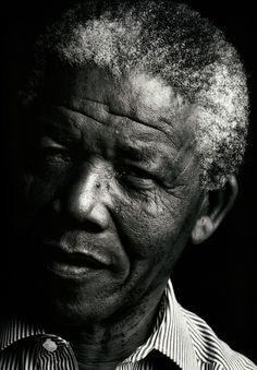 Nelson MandelaPhotographer: Annie Leibovitz  1990