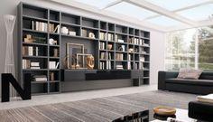 20 Modern Living Room Wall Units