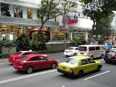 #Singapore #Taxi #Street