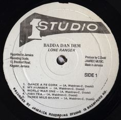 Lone Ranger Badda Dan Dem