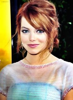 Emma Stone ♥Love her look!