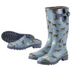 love the dog rainboots!