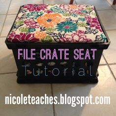 First Grade Frenzy! Milk Crate Seating