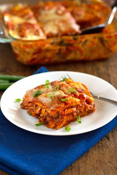 Chicken Enchilada Casserole #food #recipe