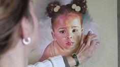 How to make a pastel portrait step by step (read description)