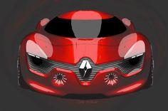 Renault Dezir Sketch Renault dezir concept design