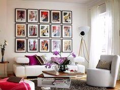 Стильно развешиваем фотографии в интерьере - Дизайн интерьеров | Идеи вашего дома | Lodgers
