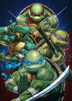 Teenage Mutant Ninja Turtles by Michele Frigo