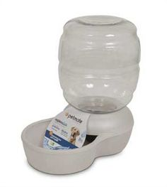 Dog Fountains - Petmate Replendish Gravity Waterer w Microban * Want additional info? Click on the image. (This is an Amazon affiliate link)