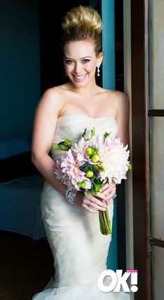 I love hilary duffs wedding hair bun i think i might consider hilary duff she was my favorite childhood star and role model junglespirit Gallery