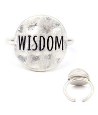 Wisdom handmade ring Buy it here:http://www.sassnfrass.net/#Lorissaleigh