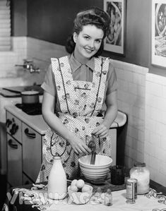 1950S Housewife | Oh, hi there! I'm just hanging out, being a domestic goddess.