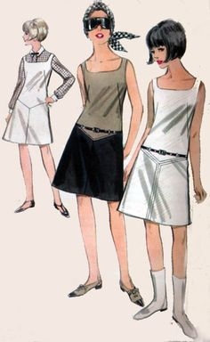 1960s Vintage Sewing Pattern Butterick 3637 MADMEN by sandritocat, $12.00