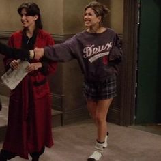 "Rachel's pyjama game was strong | 20 Things Rachel Wore In ""Friends"" That You'd Definitely Wear Now"