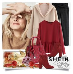 """""""SHEIN IV/9"""" by creativity30 ❤ liked on Polyvore featuring shein"""