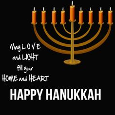 Happy Hanukkah from Gyrene Burger! May love and light fill your home and heart.