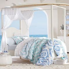 sooo I actually really like this comforter... Ikat Shells Quilt + Sham :: Kelly Slater for PB Teen