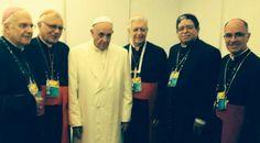 El #PapaFrancisco mostro preocupación por #CrisisEnVenezuela durante reunión en #Colombia con #ObisposVenezolanos  (113) @CESCURAINA/Prensa en Castellano en Twitter