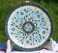 Another pattern I have never seen before and I love it now! Polish pottery