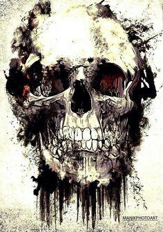Imagen de skull and art